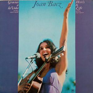 Joan Baez – Gracias A La Vida Here's To Life Lp 33t Vinyle