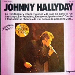 Johnny Hallyday – Johnny Hallyday Lp 33t Vinyle