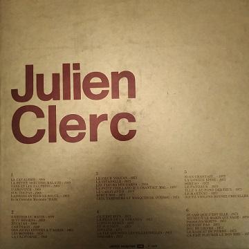 Julien Clerc – Julien (3xLP) Vinyle (25€)