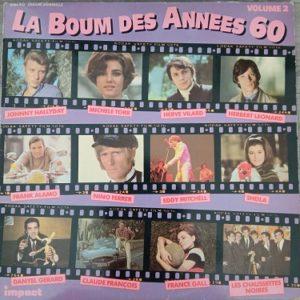 La Boum Des Années 60 Volume 2 Lp 33t Compilation Vinyle