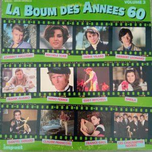 La Boum Des Années 60 Volume 3 Lp 33t Compilation Vinyle
