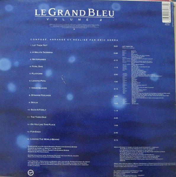 Eric Serra – Le Grand Bleu Volume 2 (Bande Originale Du Film De Luc Besson) (LP,Album)
