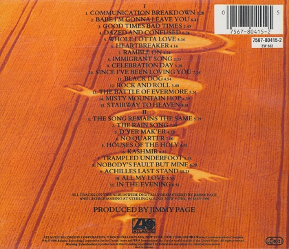 Led Zeppelin – Remasters (2xCD) Compilation