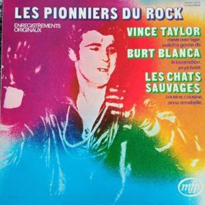 Les Pionniers Du Rock Lp 33t Compilation Vinyle