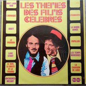 Les Thèmes Des Films Célèbres Lp Compilation 33t Vinyle