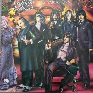 Les Variations – Café De Paris Lp 33t Vinyle