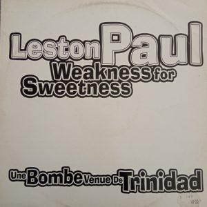 Leston Paul – Weakness For Sweetness Maxi 45t Promo Vinyle
