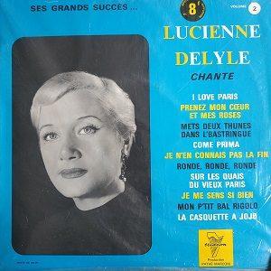 Lucienne Delyle – Chante Ses Grands Succès... Volume 2 (Compilation) 78T Vinyle