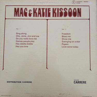 Mac & Katie Kissoon – Freedom Lp 33t Vinyle