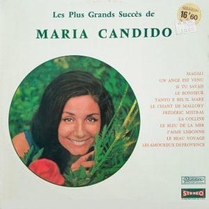 Maria Candido – Les Plus Grands Succés De Maria Candido Lp 33t Compilation Vinyle