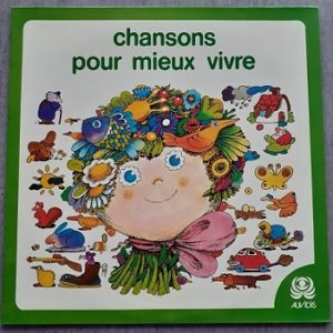 Marie-Antoinette Bassieux-Chansons Pour Mieux Vivre 33t Compilation Vinyle