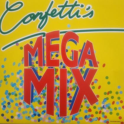 Confetti's – Megamix (45t) Vinyle