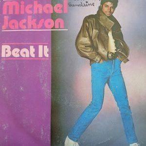 Michael Jackson Beat It 45t Vinyle
