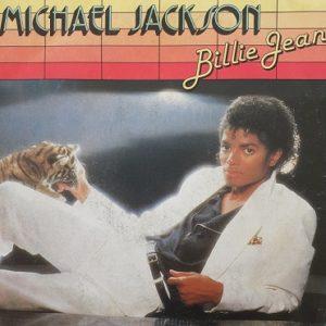 Michael Jackson Billie Jean 45t Vinyle