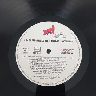 NRJ La Plus Belle Des Compilations Lp 33t Vinyle