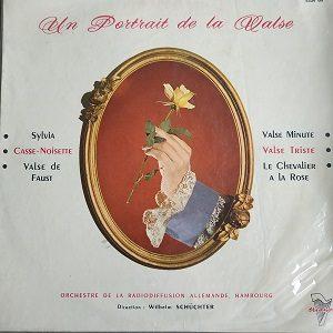 Orchestre De La Radiodiffusion Allemande De Hambourg* Direction Wilhelm Schüchter – Un Portrait De La Valse Album 78T Vinyle