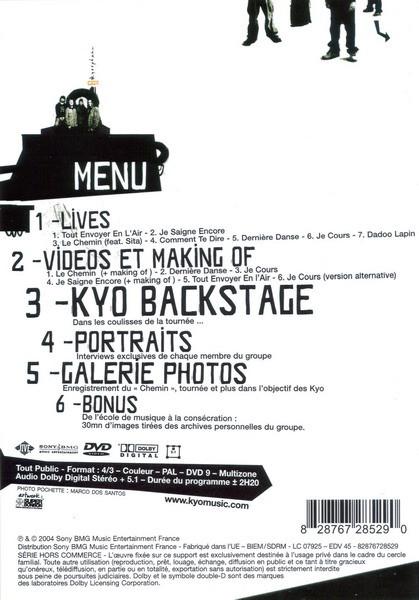 Kyosphere KYO live DVD