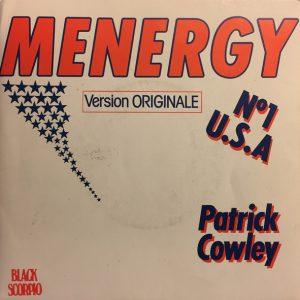 Patrick Cowley – Menergy 45 tours vinyl