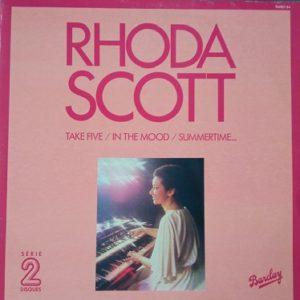 Rhoda Scott – Take Five In The Mood Summertime... 2x33T LP Vinyle