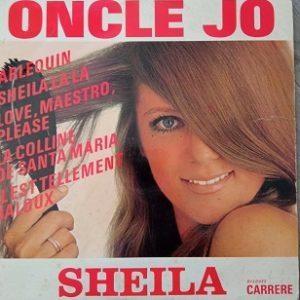 Sheila - Oncle Jo Lp 33t Vinyle