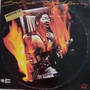 Son Seals – Live And Burning Lp 33t Vinyle