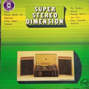 Super Stereo Dimension Lp 33t Compilation Vinyle