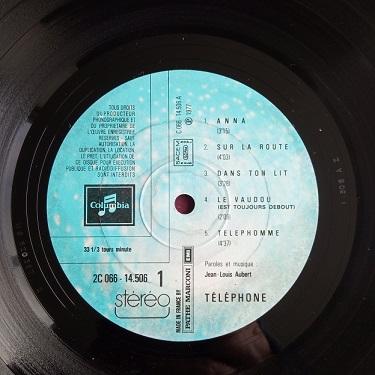 Téléphone – Téléphone Lp 33t Vinyle