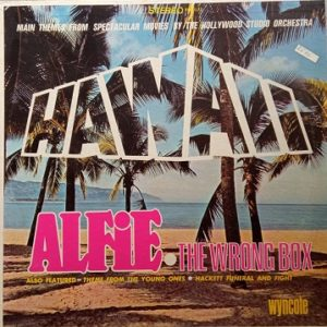 The Hollywood Studio Orchestra – Hawaii, Alfie, And The Wrong Box Lp 33t Vinyle