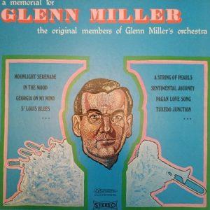 The Original Members Of Glenn Miller's Orchestra – A Memorial For Glenn Miller (4xLP)
