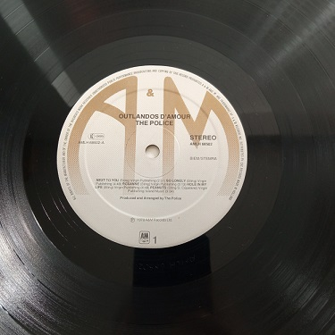 The Police – Outlandos D'Amour Lp 33t Vinyle