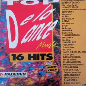 Top De La Dance Music Lp 33t Vinyle
