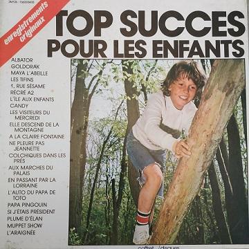 Top Succès Pour les Enfants (3xLP) Vinyles