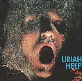 Uriah Heep ‎– ...Very 'Eavy ...Very 'Umble Album (CD)