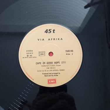 Via Afrika – Hey Boy Maxi 45T Vinyle