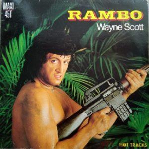 Wayne Scott – Rambo Maxi 45t Vinyle