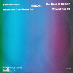 Wham! – The Edge Of Heaven Maxi 45T Vinyle