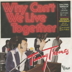 Timmy Thomas – Why Can't We Live Together vinyl single