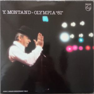 Yves Montand – Olympia 81 Lp 2x33t Vinyle