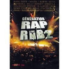 Génération RAP RnB2 live dvd